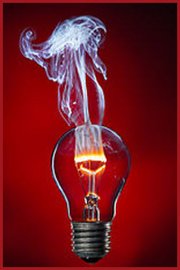 burning lightbulb (2)
