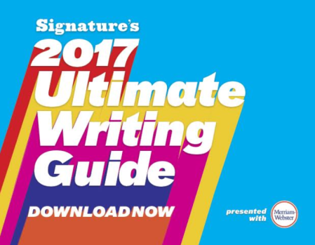 "The 2017 Ultimate Writing Guide—""featuring essays from twenty-two seasoned authors to help writers of all stripes on their own, personal writing journeys"